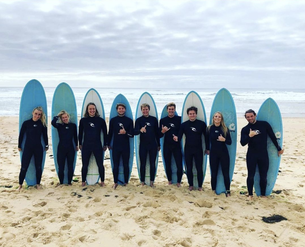 Copenhagen Surf School teamet