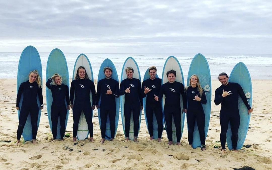 Copenhagen Surf School teamet